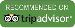 recommended on trip advisor icon